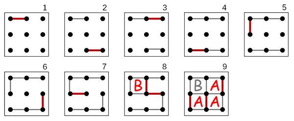 Example Dots and Boxes Game